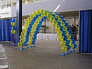 Entrance Balloon Arch