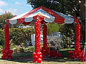 Canopy with Balloon Design