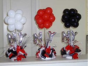 Table Balloon Decorations